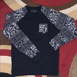 XS- Forever 21 Tribal Long sleeve sweater top
